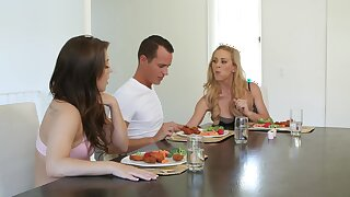 Cherie DeVille added to JoJo Pat team yon to be fucked by twosome fixed dick
