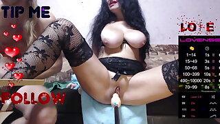 Web-cam 26.10.2020 Hot Slut Boniklay swell up dick coupled with fuck 2Par