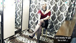 Obedient Slave - Mommy AimeeParadise. START-STOP show. Hot.!.