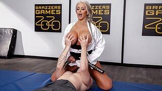 Rough Fucks My MILF Karate Teacher - full scene at ebrazz.tv