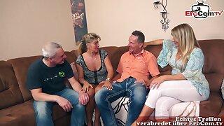 German adult housewife swinger orgy