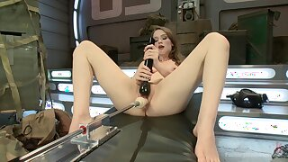 Fuck machine solo tryout in scenes of dirty XXX porn