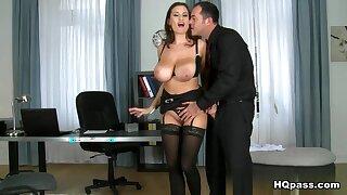 Hottest pornstars Sensual Jane, James Brossman in Horny Big Tits, MILF sex clip