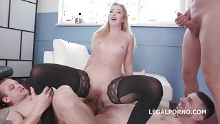 Samantha Rone got properly stuffed with a fluster hard dick, until she started screaming from awe