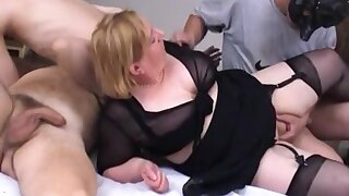 Fat adult homemade orgy