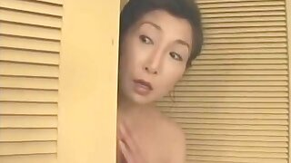 Mature Japanese become man gets fucked relating to the bathroom